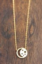Cutout Celestial Necklace