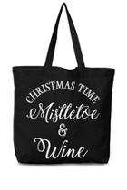 Christmastime Canvas Tote