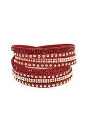 Red Wrap Around Bracelet