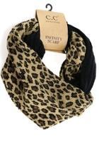 Black-leopard Infinity Scarf