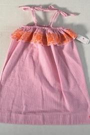 Embroidered Seersucker Dress