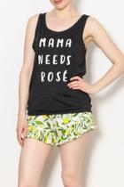 Mama Needs Rosé Tank
