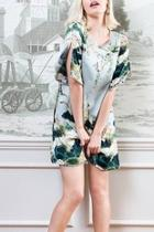 Japanese Printed Dress