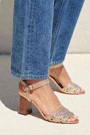 Liana Woven Leather Sandal