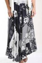 Floral Patchwork Skirt