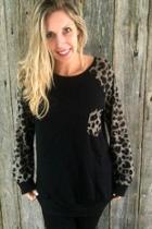 Cheetah Raglan Longsleeve