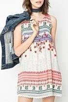 Cherry Blossom Sleeveless Dress