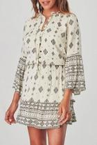 Andee Patterned Dress