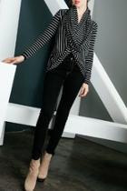 Striped Twist Cardigan