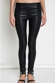 Faux Leather/suede Leggings