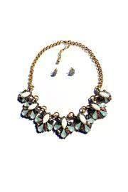 Statement Multi-color Necklace