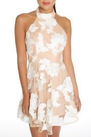 Nude Florals Dress