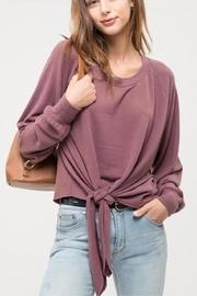 Front Tie Knit