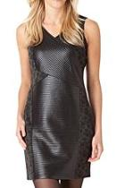 Sleeveless Multifabric Dress