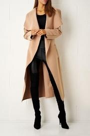 Camel Waterfall Coat