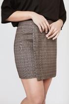 Cassie Plaid Skirt