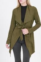 Olive Belted Jacket