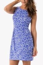 Sea Glass Printed Dress