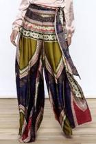 Ethnic Satin Pants
