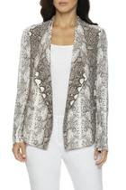 Leai Snake-print Jacket