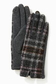 Tweed Plaid Gloves