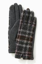 Tweed Plaid Gloves