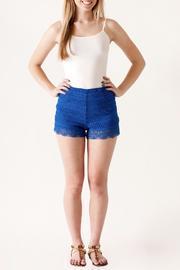 High Waisted Crochet Shorts