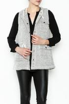 Regal Hooded Vest
