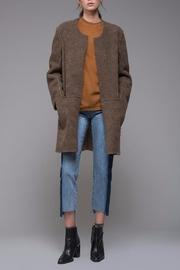 Reversible Shearling-suede Coat