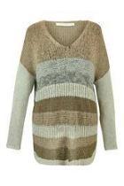Stripe Yarn Sweater