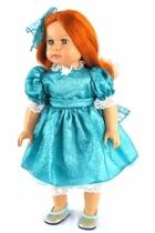 Doll Teal Dress