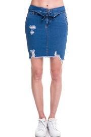 Folded Waist Skirt