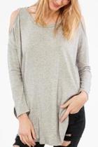 Knit Shoulder Top