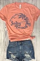 The Salty-beach Tee