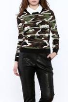 Alpha Camo Jacquard Sweater