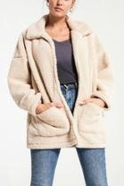Cream Teddybear Coat
