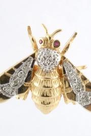 Bumblebee Diamond Brooch