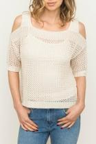 Coldshoulder Pullover Sweater