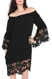Offf-the-shoulders Lace Dress