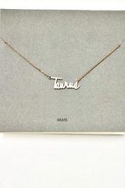 Taurus Pendant Necklace