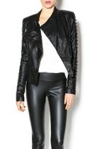 Leatherette Rider Jacket