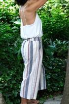 Multi-stripe Culottes