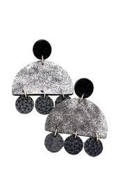 Geometric Texture Earrings