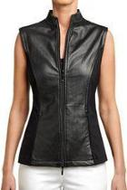 Felicity Leather Vest
