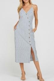 Ally Button-down Dress