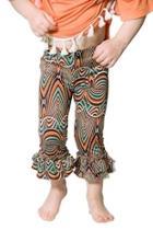 Ruffle Print Leggings