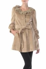 Camel Tie Coat