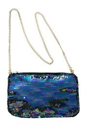Peacock Sequin Clutch