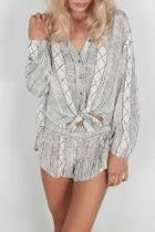 Spell Bound Woven Blouse