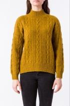 Spice Cable-knit Sweater